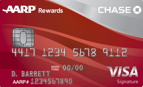 AARP – Credit Card from Chase