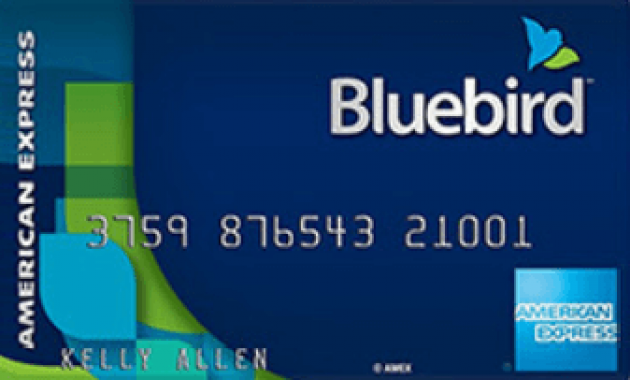 Amex bluebird prepaid debit card