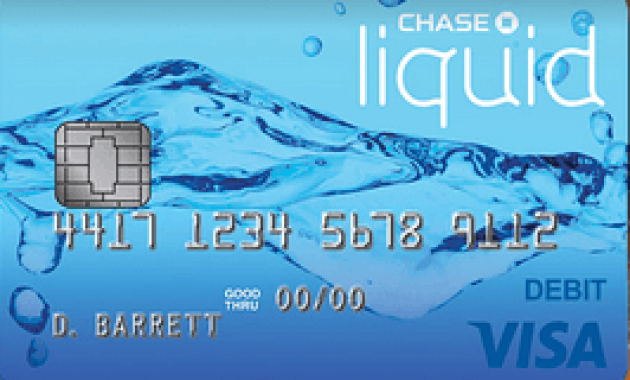 chase liquid prepaid debit card